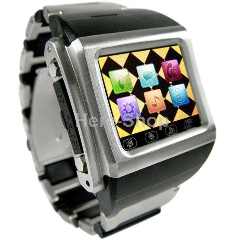 mobil v hodinkách